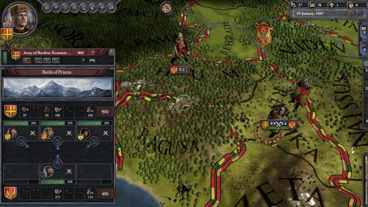 十字軍之王3前期攻略