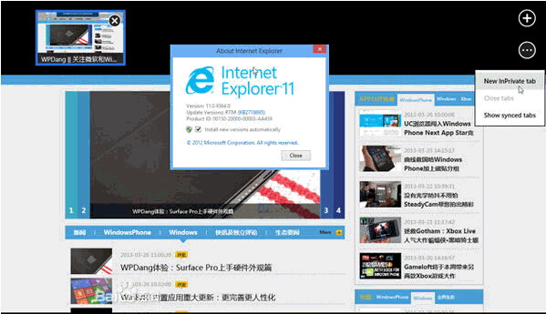 IE11(Internet Explorer 11)