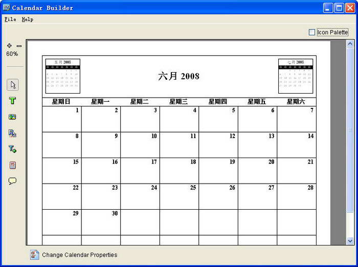 Calendar Builder