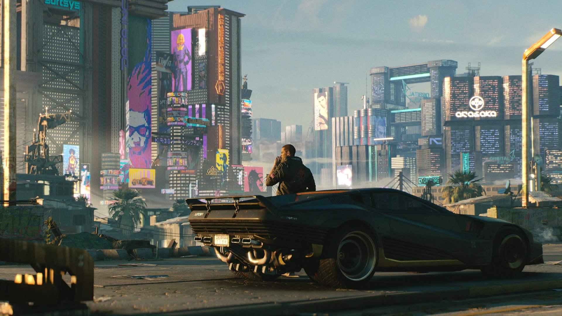 賽博朋克2077技師背景
