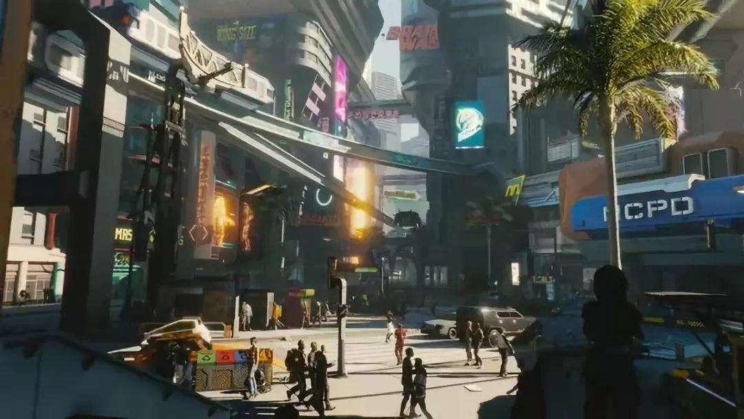 賽博朋克2077夜之城威斯布魯克