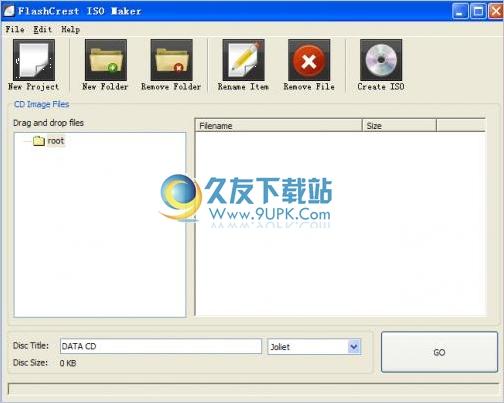 FlashCrest ISO Maker 英文免安裝版
