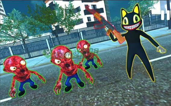 卡通猫恐怖犯罪城截图1